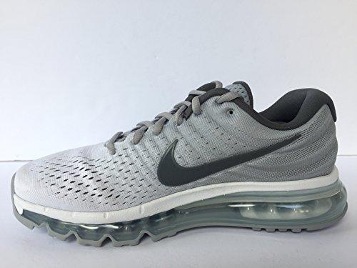 more photos 931b0 e5af7 ... Nike Air Max 2017 Herren Freizeitschuhe 849559-400 Weiß (White Dark  Grey  ...