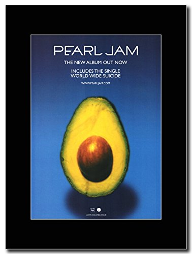 Pearl Jam - Pearl Jam Magazine Promo on a Black (Pearl Jam Memorabilia)