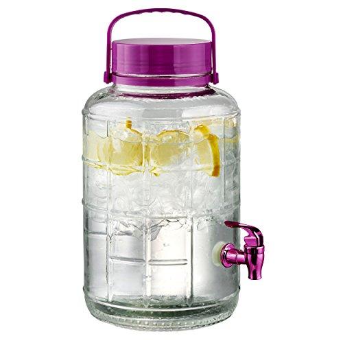 Artland Tailgate Beverage Dispenser, 2 gallon, Berry by Artland -
