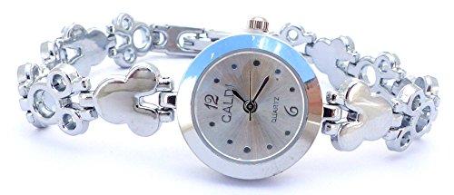 hochwertige Designer Damen Armbanduhr DG Trendit BTL White