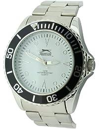 SLAZENGER SLZ210/A - Reloj de pulsera hombre, color plateado