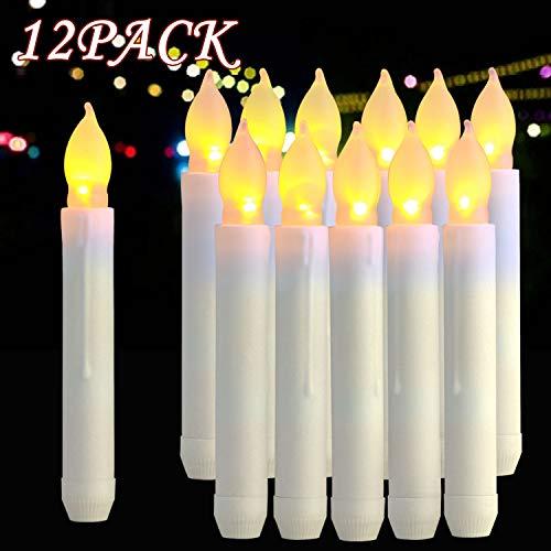 se LED Wachskerzen, Lichter, batteriebetrieben Harry Potter Kerzen für Party, Hochzeit, Kirche Dekorationen (MEHRWEG) ()