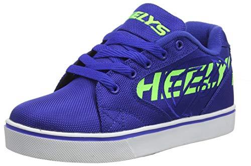 Heelys Herren Vopel Sneaker, Blau Blue/Neon Green, 36.5 EU