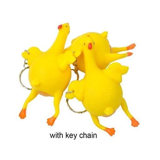 Neuheit-Spoof-Tricky-Funny-Gadgets-Toys-Huhn-ganze-Ei-Legehennen-berfllte-Stress-Ball-Spielzeug-mit-Schlsselanhnger