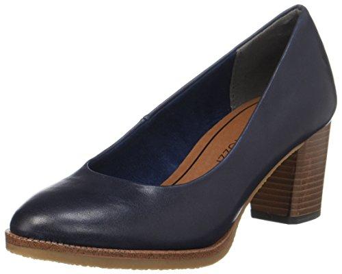 Marco Tozzi 22455, Zapatos De Mujer Con Tacón Azul (navy Antic)