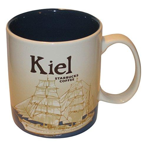 Starbucks City Mug Kiel Coffee Cup Pott Kaffee Kiel Icon Serie Germany -