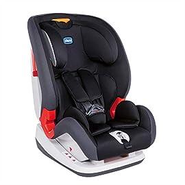 Chicco Youniverse Seggiolino Auto 9-36 kg, Gruppo 1/2/3 per bambini da 1 ai 12 Anni, Jet Black