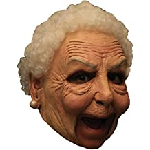Oma Hexen Maske Alte Frau Dame Omamaske Grossmuttermaske Hexenmaske
