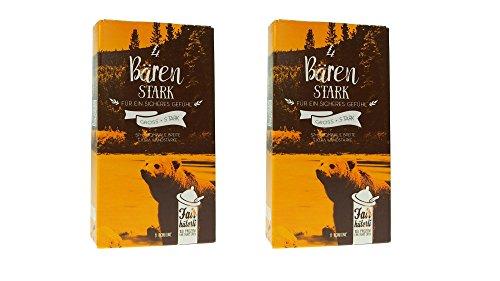 Fairhüterli - Baerenstark - 16 Kondome made in Germany, 57mm (XL), erhöhte Wandstärke, aus Fair Trade Latex, zertifiziert vegan, einzeln elektronisch getestet (2x8 Stück)