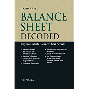 Balance Sheet Decoded-Keys to Unlock Balance Sheet Secrets