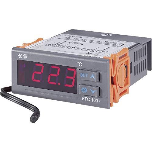 VOLTCRAFT ETC-100+ Temperaturregler NTC10K -40 bis +120 °C Relais 10 A (L x B x H) 88 x 75 x 34.5 mm -