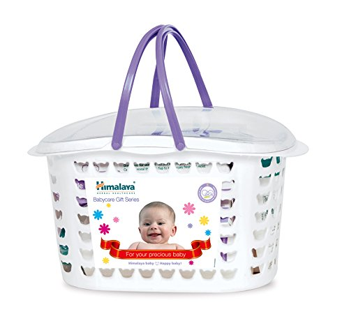Himalaya Herbals Babycare Gift Basket Combo (White)  available at amazon for Rs.536