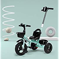 AI-QX 3 WHEEL 2 IN 1 KIDS CHILDREN TRIKE TRICYCLE WITH REMOVABLE PARENTS PUSH HANDLE BAR