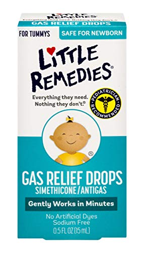 Little Remedies Infants and Children Tummy Relief Drops, Natural Berry Flavor, .5 Ounce