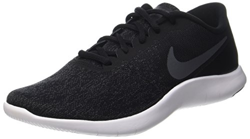 Sk Naturals (Nike Herren Flex Contact Laufschuhe, Schwarz (Black/Dark Grey-Anthracite-White), 45 EU)