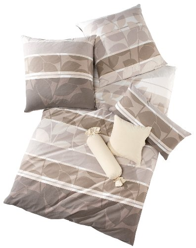 Schlafgut Bettwäsche Single-Jersey nerz Größe 135x200 cm (40x80 cm)
