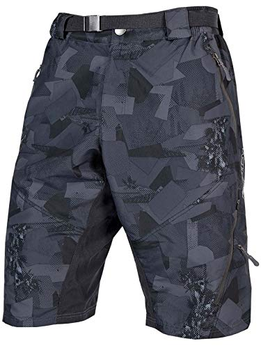 Baggy Mountain Bike Shorts (Endura Hummvee Mountain Bike Baggy Short II, Herren, XL, Grey Camo)