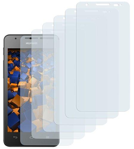 6 x mumbi Schutzfolie Huawei Ascend G525 Dual Folie Displayschutzfolie