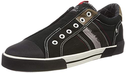 s.Oliver Herren 5-5-14603-22 001 Slip On Sneaker Schwarz (Black 1) 43 EU