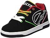 Heelys  Propel 2.0 770603,  Jungen Lauflernschuhe Sneakers , Mehrfarbig - multi (Black/Reggae) - Größe: 40.5 EU
