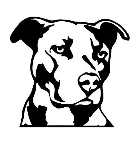 Pitbull Kopf Hund Tier Haustier American Pit Bull Breed Vinyl Aufkleber Aufkleber - Toyota Trd Decals