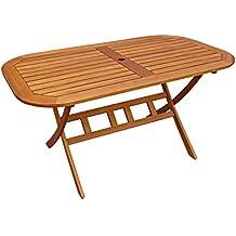 Gartentisch klappbar oval  Suchergebnis auf Amazon.de für: gartentisch oval klappbar