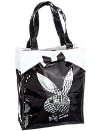 Playboy Disco Ball Large Tote Bag PA7816, Sac à main femme