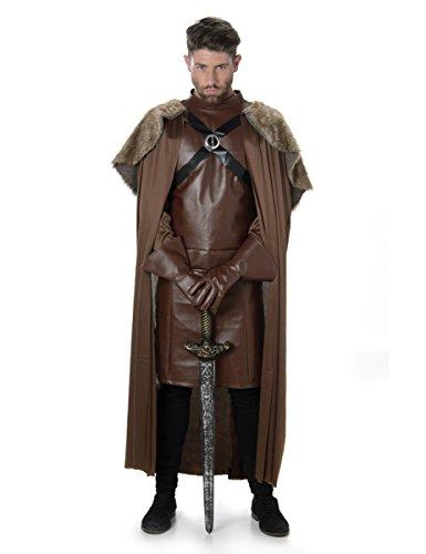 Karnival Costumes Costume médiéval de Chevalier Guerrier Game of Throne pour Homme