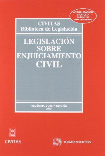 Legislación sobre Enjuiciamiento Civil (Biblioteca de Legislación)