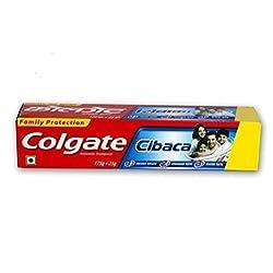 Colgate Cibaca Anti-cavity Toothpaste - 200g (175g + 25g Extra)