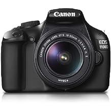 Canon EOS 1100D - Cámara Réflex Digital 12.2 MP (Cuerpo) (Reacondicionado)