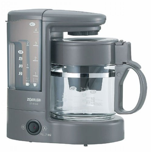 Zojirushi coffee maker coffee experts [Cup approximately 1 ~ 4 tablespoons] Brown EC-GA40-TA (japan import)