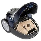 moderner Komfort Beutelstaubsauger HEPA-Filter System Staubs...