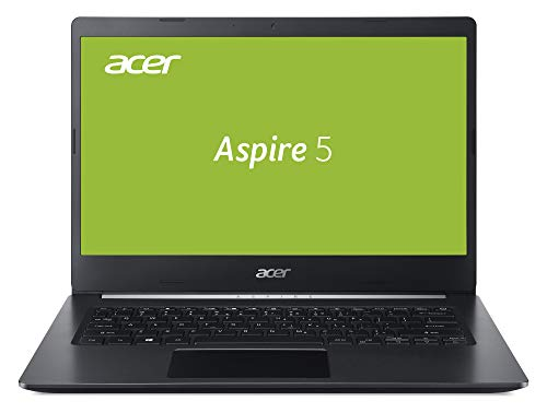 Acer Aspire 5 (A514-52G-59Fw) Laptop (14 Zoll FHD mit IPS matt, Intel Core i5-10210U, 8 GB DDR4 RAM, 1.000 GB PCIe SSD, Nvidia GeForce MX250, Win 10 Home) Schwarz