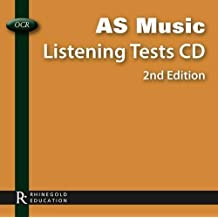 OCR AS Music Listening Tests CD 3rd (third) Edition by Rhinegold Publishing Ltd published by Rhinegold Publishing Ltd (2011)