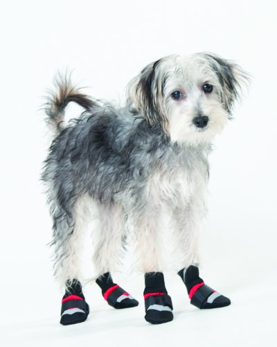 Artikelbild: Fashion Pet Lookin good Extreme alle Wetter Stiefel für Hunde, Large, Rot