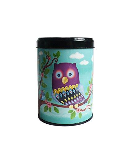 Kalam 'KDO8505jaune Teedose Mon Tee Super Eule. Deko Küche–hergestellt in...