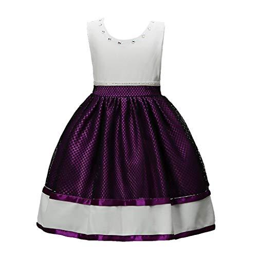 4d273e57f662da JERFER Robe de Mariage pour bébé Fille Vêtements de soirée