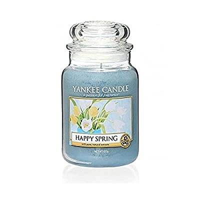 Yankee Candle Happy Spring Large Jar Scented Candle by Yankee Candle