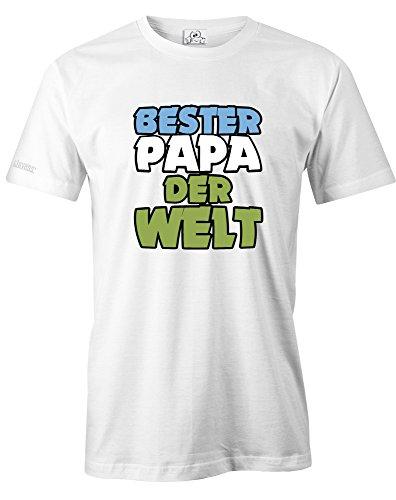 BESTER PAPA DER WELT - DELUXE - HERREN - T-SHIRT by Jayess Gr. S bis XXXL Weiß