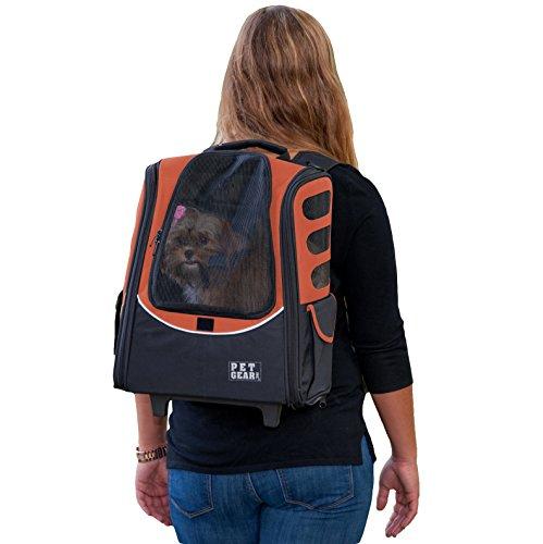 Pet Gear i-go2Sport Roller Rucksack für Katzen und Hunde bis, Medium Escort, Kupfer (Pet-escort)