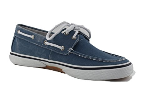 Sperry Athletic Sneakers (Sperry Halyard 2 Eye Stellar Blu Sneaker Herren (42))