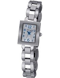 Reloj TIME FORCE de niña/señora. Acero. Cadena. Esfera plata. TF-3356B02M