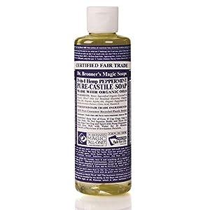 Dr.Bronner's Sapone Liquido con Fragranza alla Menta Piperita - 473 ml