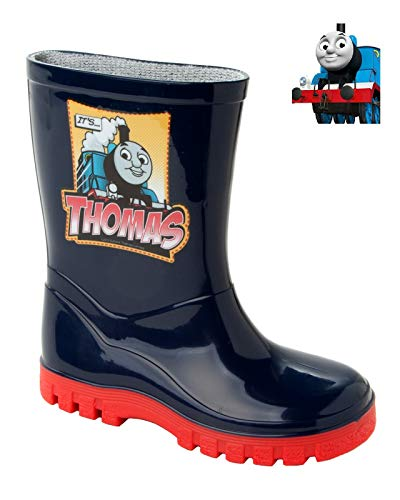 Boys Official Thomas The Tank Wellies Wellington RAIN Snow Boots UK Size 4-10