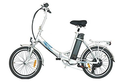 swemo 20 Zoll Alu Klapp E-Bike/Pedelec SW200 (Schwarz)