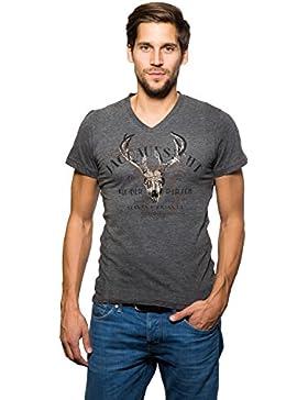 Krüger - Herren Trachten T-Shirt, Jagdaufsicht (Artikelnummer: 93205-41)