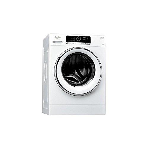 Whirlpool FSCR10427 Waschmaschine, Frontlader, freistehend, 10kg, 1400U/min, Energieeffizienzklasse A+++-20%, Weiß, 64l