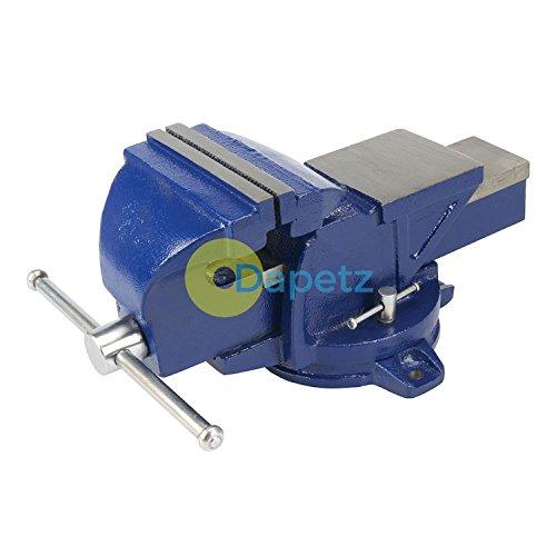 Sockel Swivel (dapetz®-Ingenieure Schraubstock drehbar Sockel 150mm (6) 16kg gehärtetem Stahl Kiefer Teller)