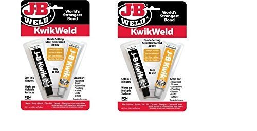 Price comparison product image J-B Weld 8276 KwikWeld Quick Setting Steel Reinforced Epoxy - 2 oz by J-B Weld